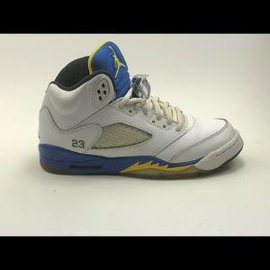 YOUTH Nike Air Jordan 5 V Retro Laney SZ:5.5Y
